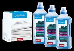 Set UltraColor UltraWhite Halbjahresvorrat Miele Waschmittel